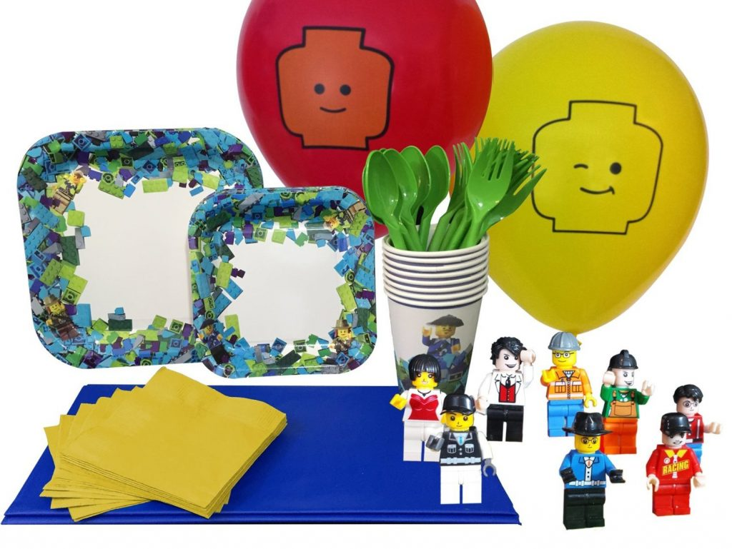 Party Kit for Lego-Themed Parties