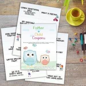 Printable Father Kids Coupons