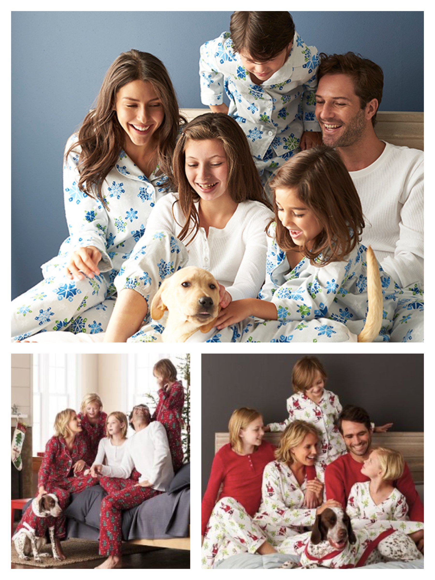 The Company Store Matching Family Holiday Pajamas