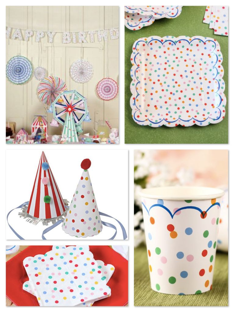Toot Sweet Spotty Carnival Party Supplies