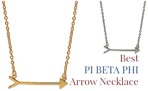 Best Pi Beta Phi Arrow Necklace