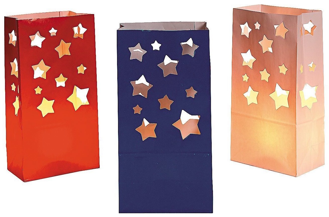 Star Flag Patriotic American Luminaries