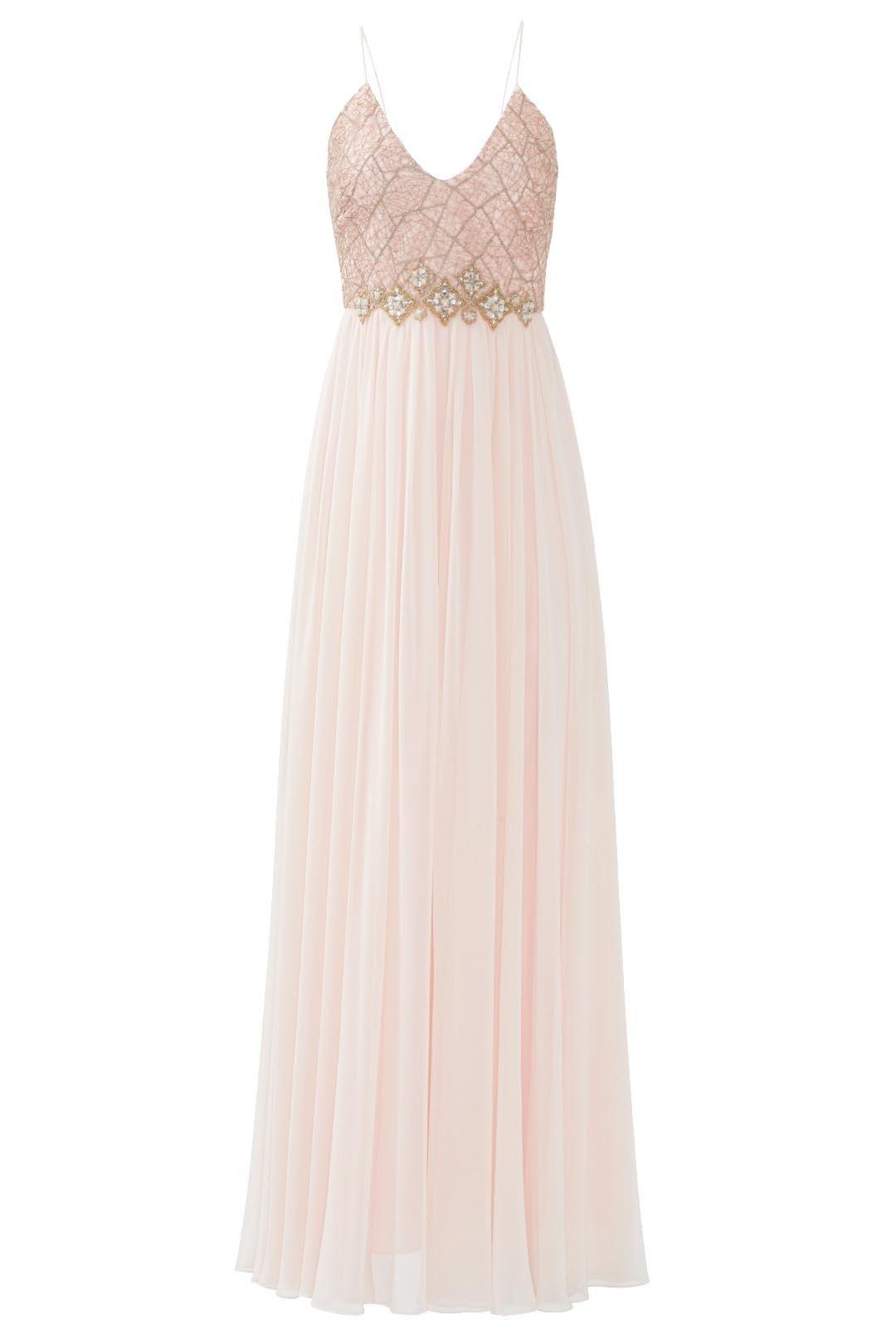 Badgley Mischka Blushing Ballerina Gown, JoJo Fletcher's Bachelorette Looks
