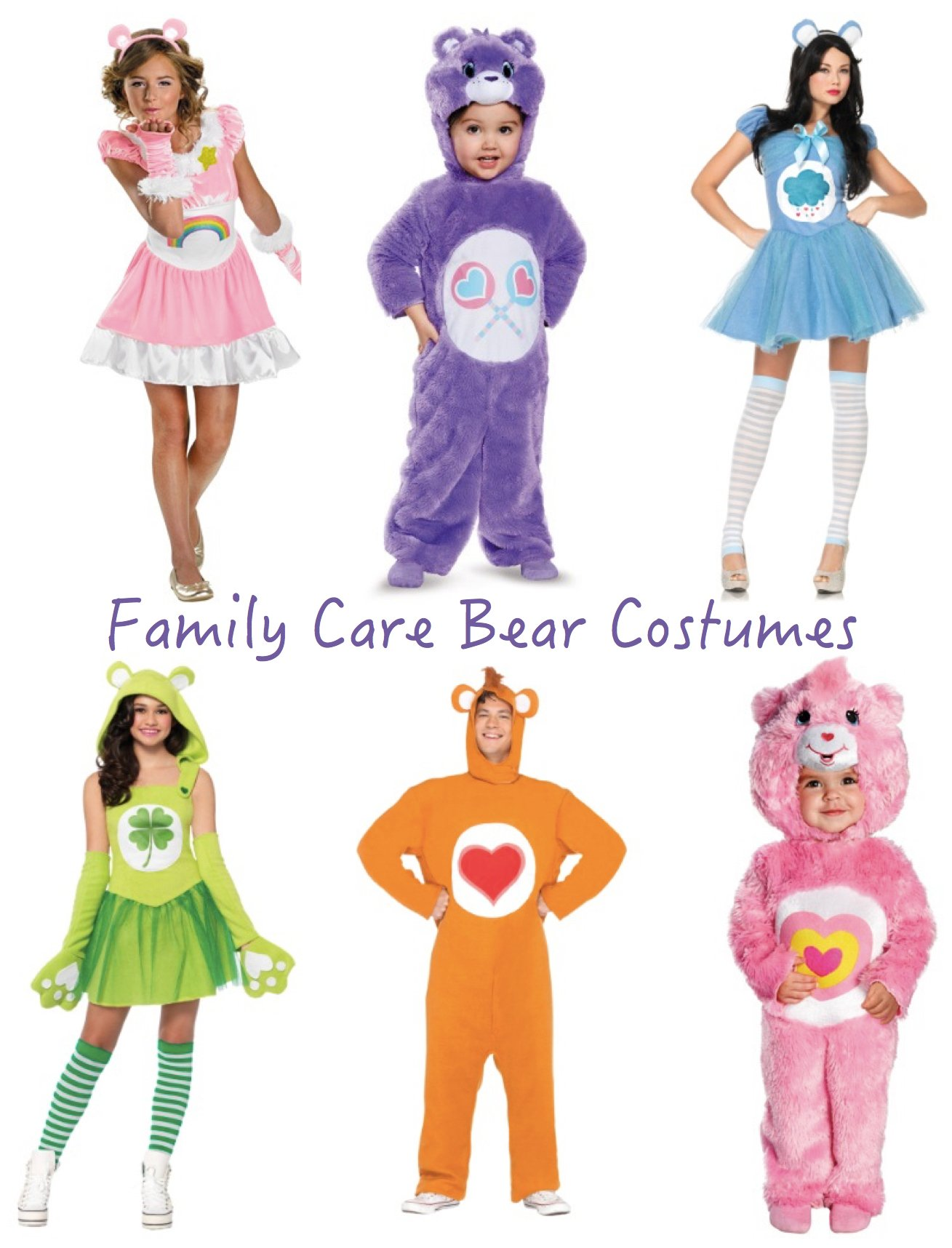 Family Care Bear Costumes