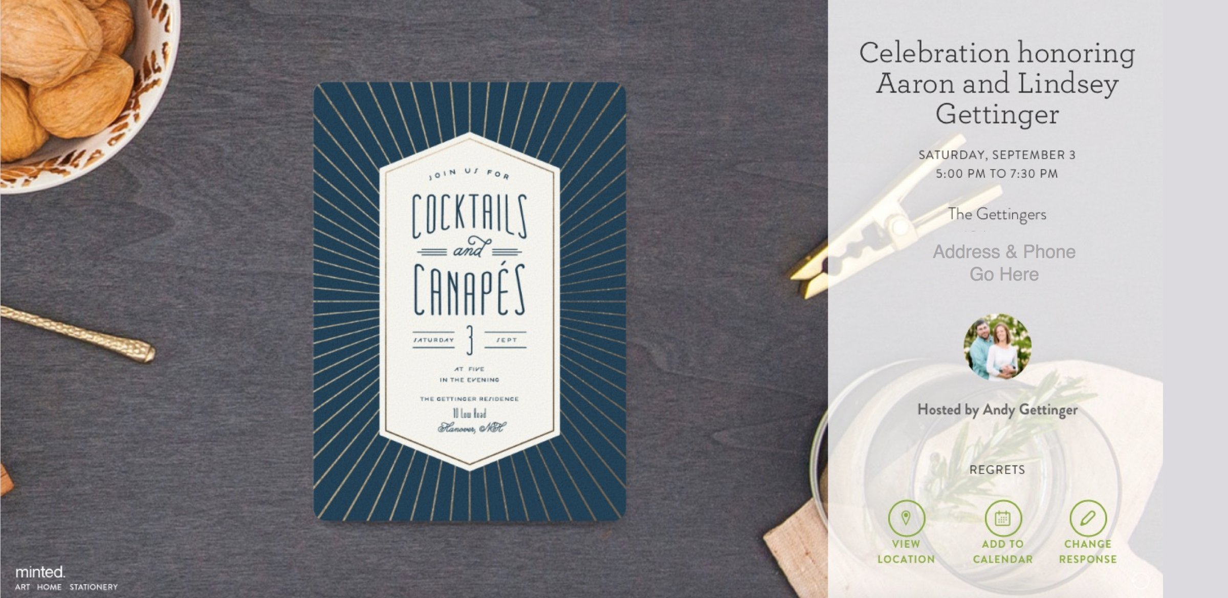 minted s elegant online invitations free for a limited time