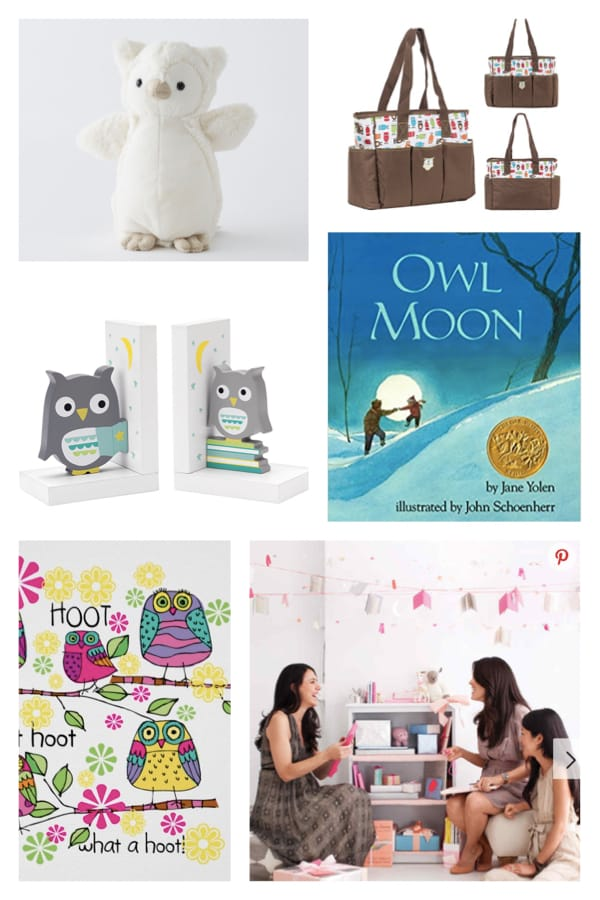 Owl Baby Shower Ideas & Gifts
