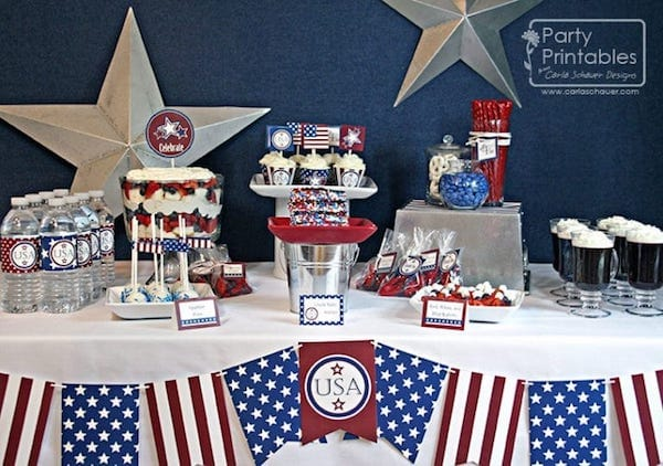 Printable Patriotic Party Kit