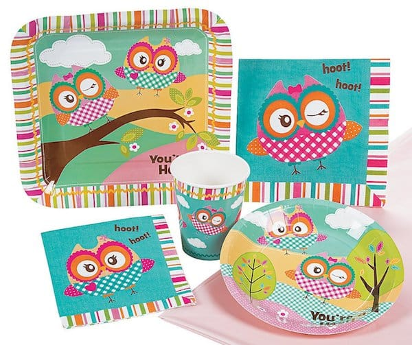 You're A Hoot Owl Party Supplies