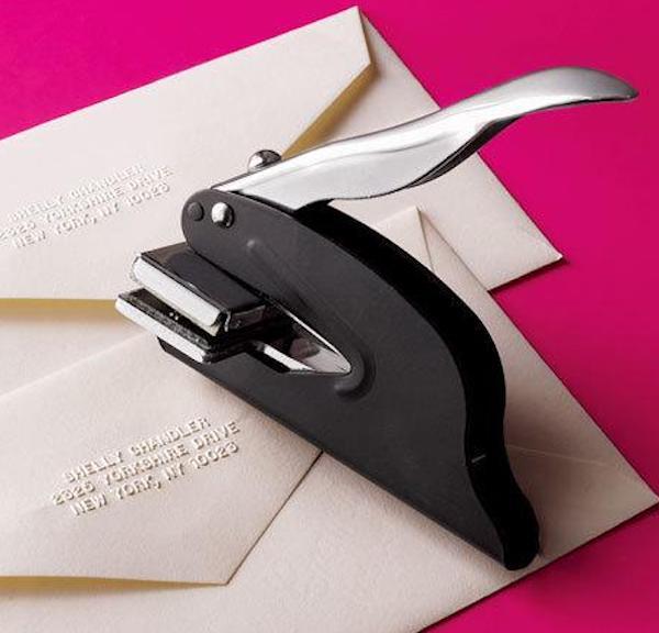 Address Embosser, Custom Stamps and Embossers