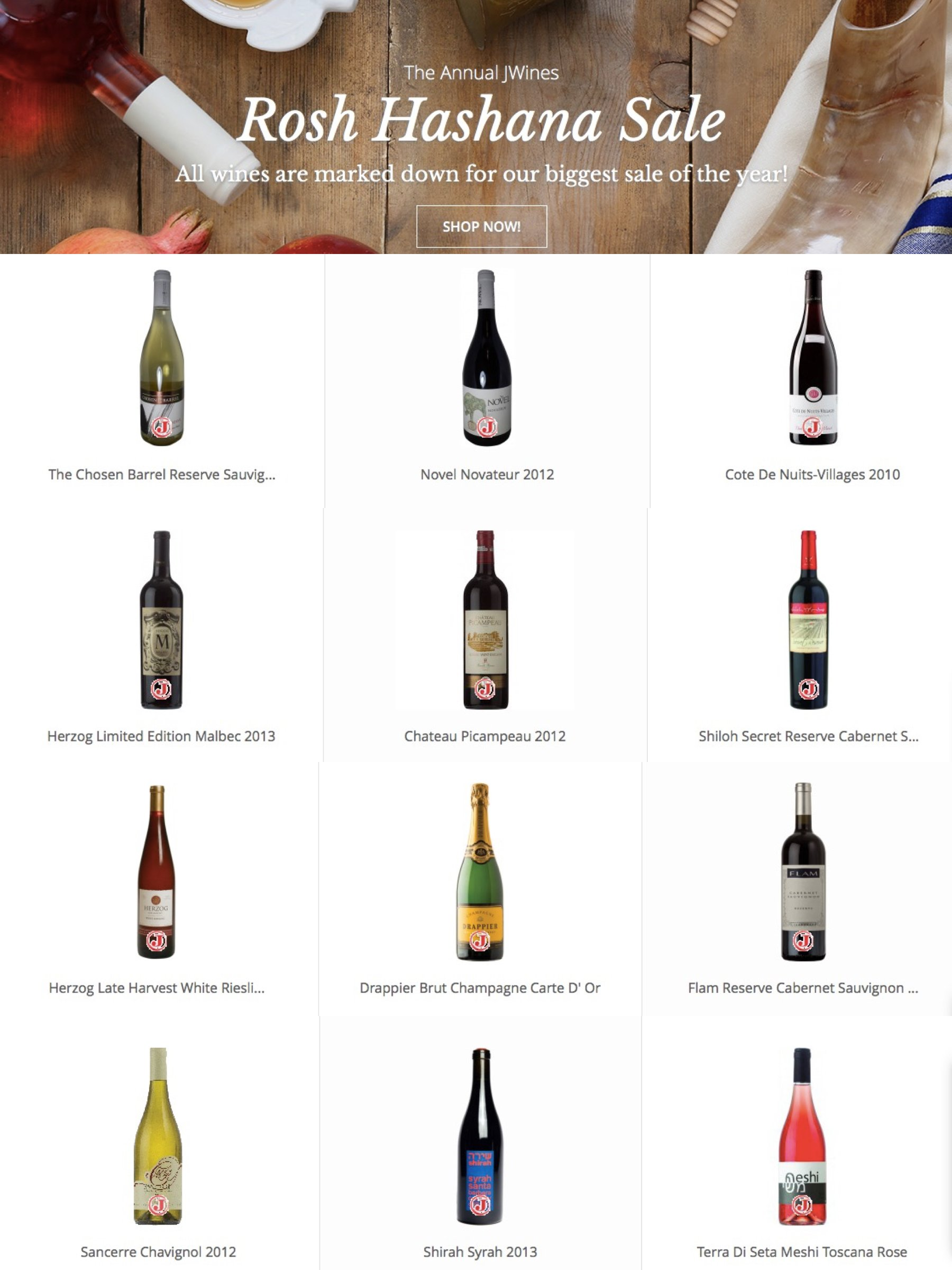Best Rosh Hashanah Wines