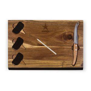 dallas-cowboys-delio-acacia-cheese-board-with-acacia-markers