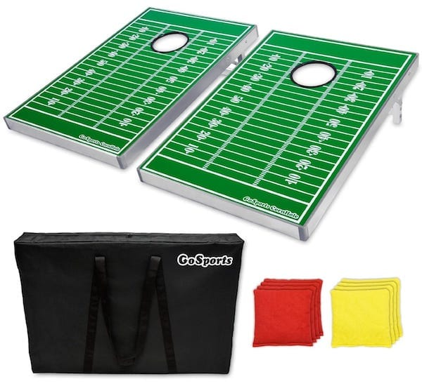 Football CornHole Bean Bag Toss Set