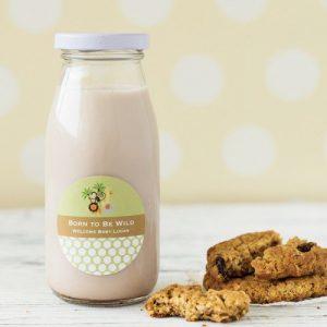 Personalized Baby Shower Milk Jars
