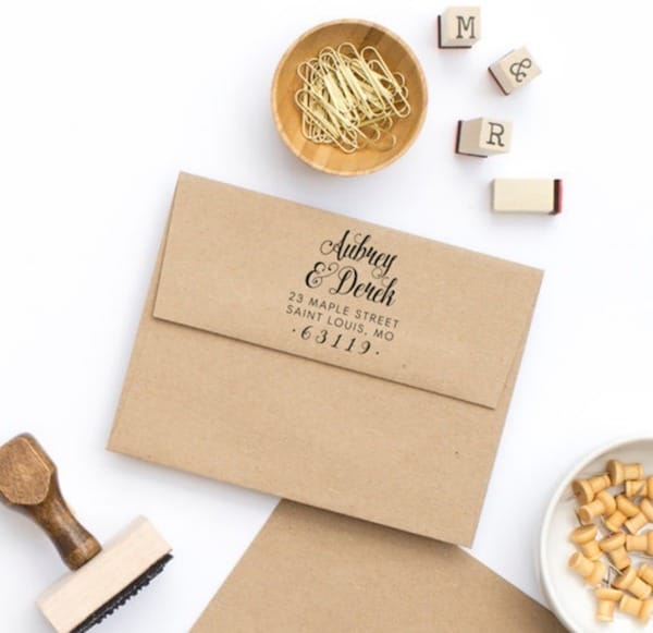 Personalized Return Address Stamp, Custom Stamps and Embossers