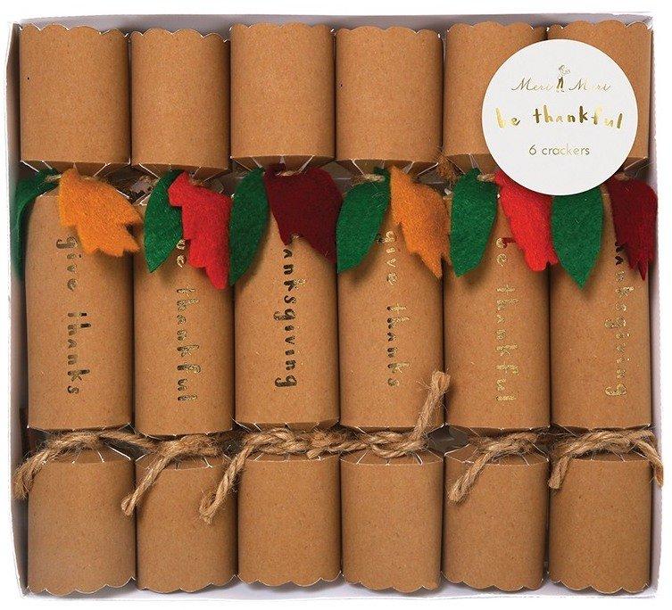 Be Thankful Mini Thanksgiving Cracker
