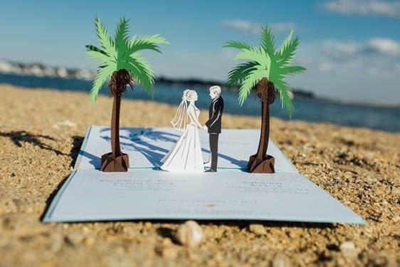 Wow Wedding Invitations Gt Gt Custom Pop Up Invites