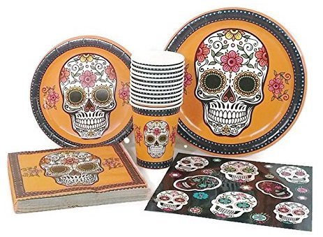 Day of the Dead Dia de Muertos Halloween Party Supplies