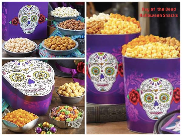 Day of the Dead Halloween Snacks