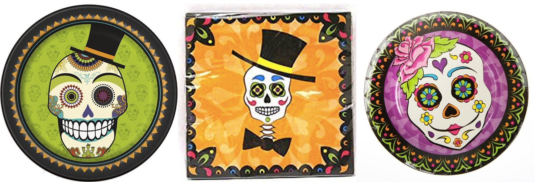 Day of the Dead Party Goods & Supplies