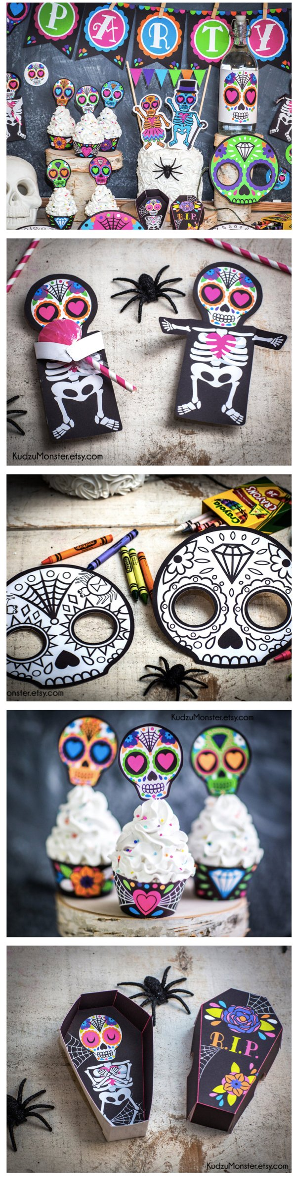Day of the Dead Printable Decorations