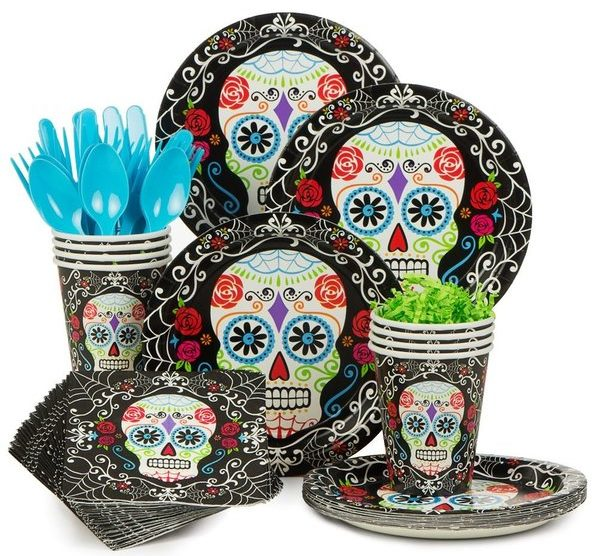 Day of the Dead Tableware