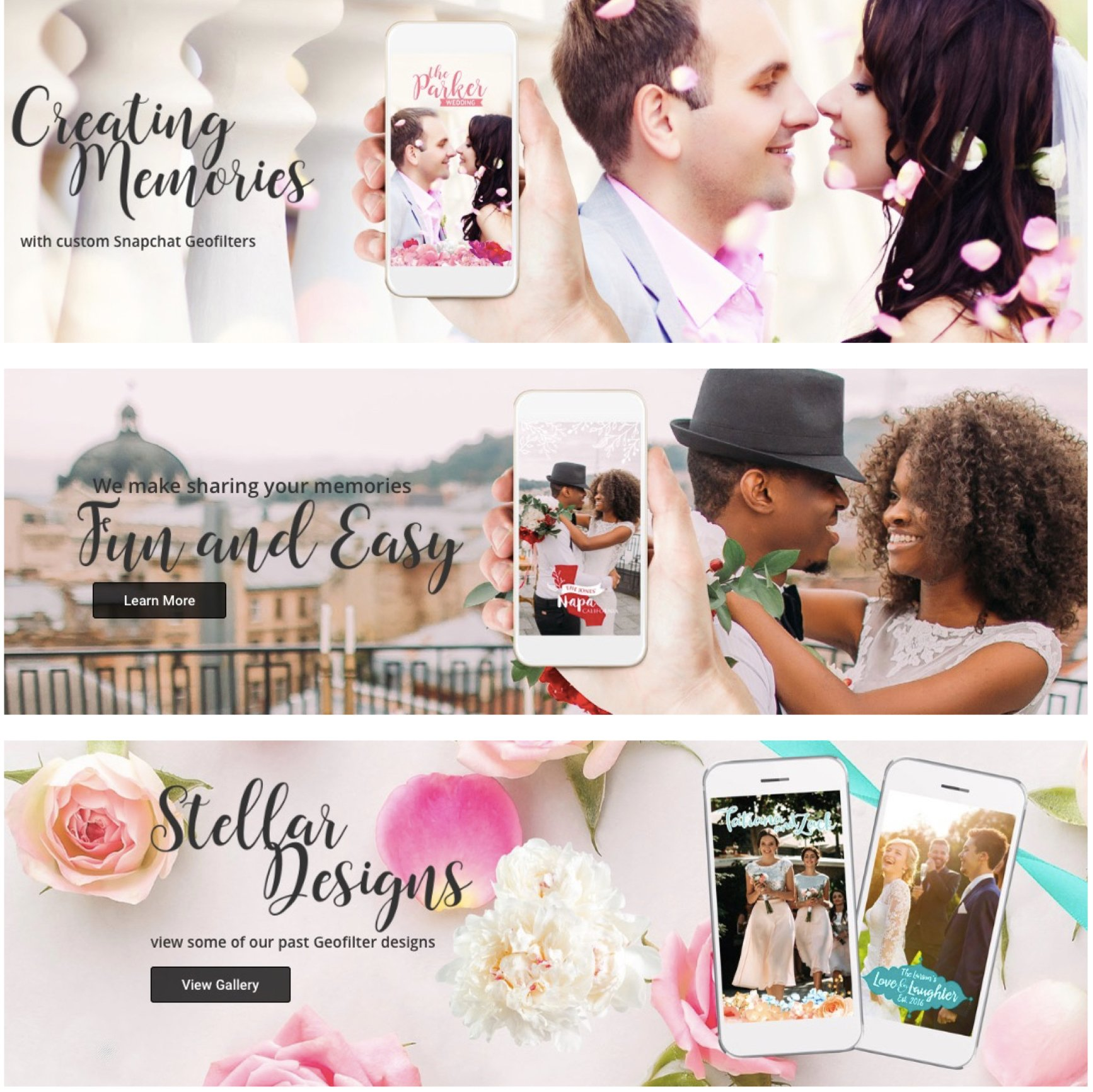 Etsy Wedding Geofilters