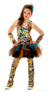 Graffiti Girl Costume