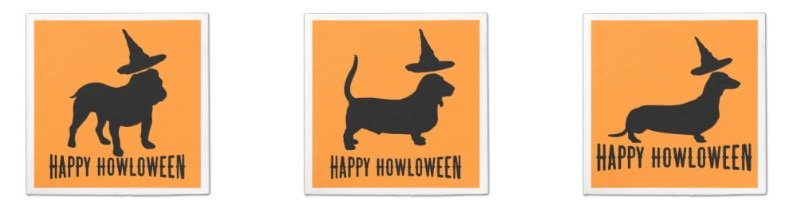 Happy Howloween Party Paper Napkins