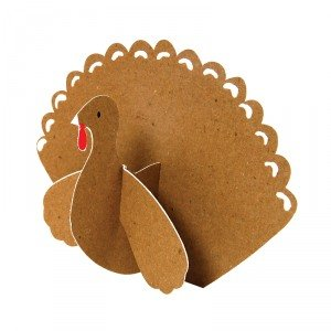 Kraft Turkey Thanksgiving Place Cards