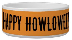 Happy Howloween Dog Bowl