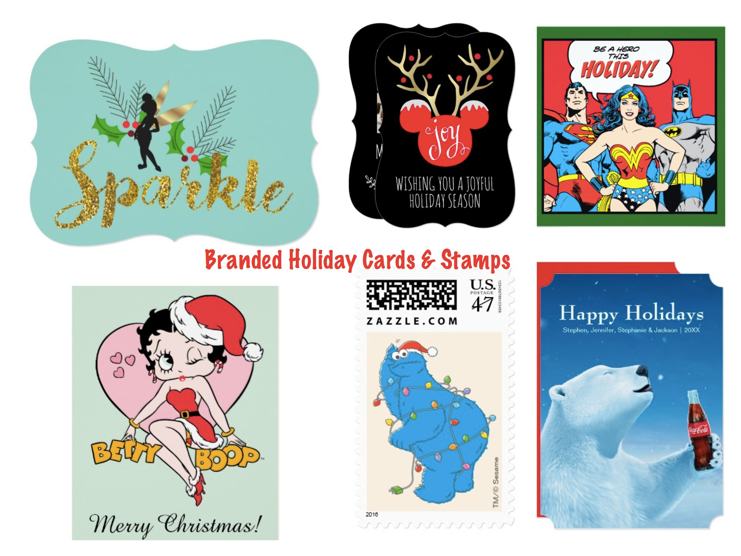 Branded Holiday Cards and Stamps