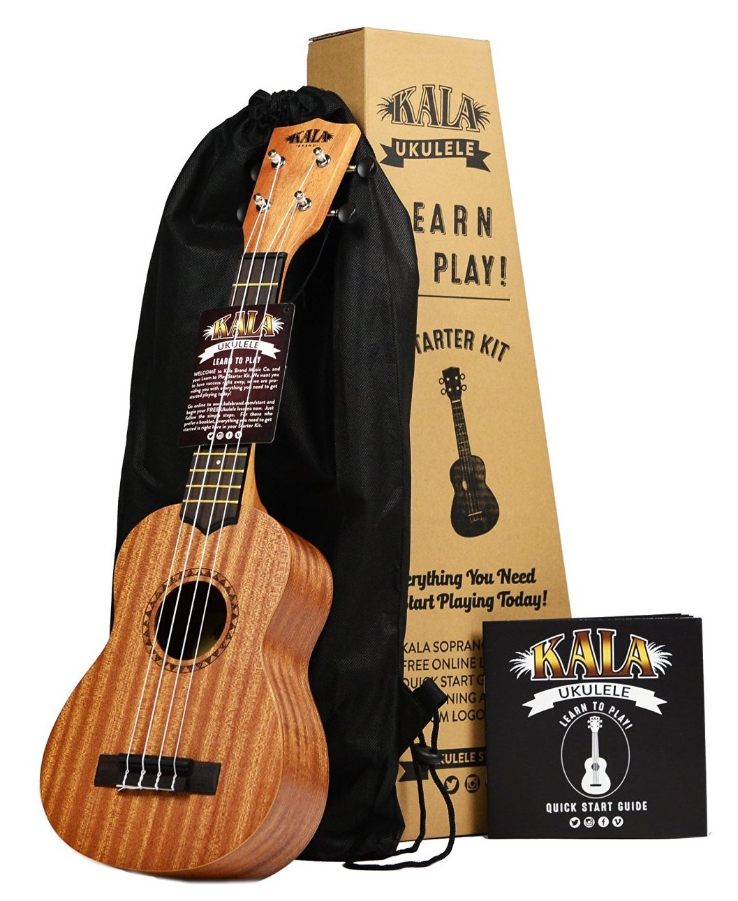 Learn to Play Ukulele Starter Kit