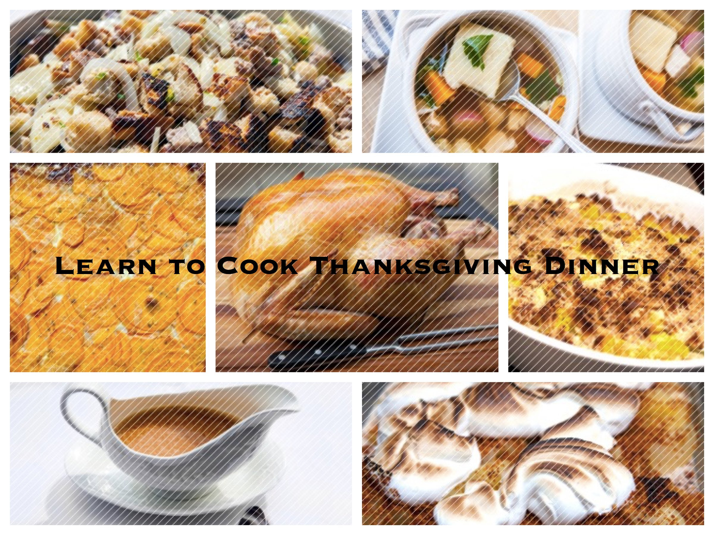 Learn to Cook Thanksgiving Dinner from Michelin-Starred Celebrity Chefs