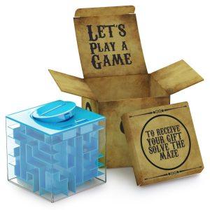 Money Maze Puzzle Box