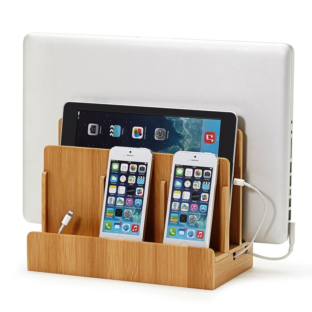 Multi Device Charging Station Dock and Organizer