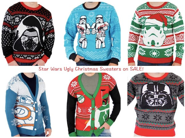 Star Wars Ugly Christmas Sweaters on SALE!