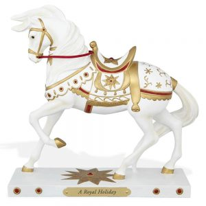 Trail of Painted Ponies Collectible Christmas Figurines