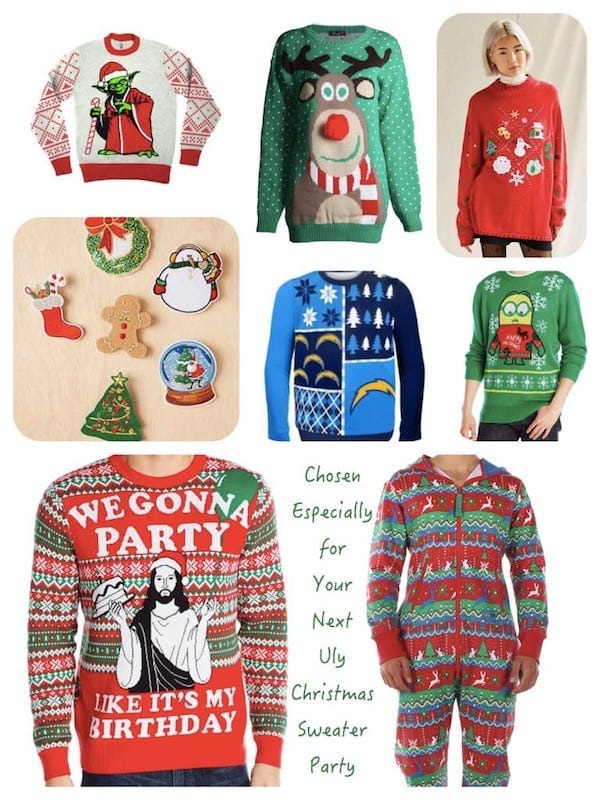Ugly Christmas Sweaters Party Sweaters
