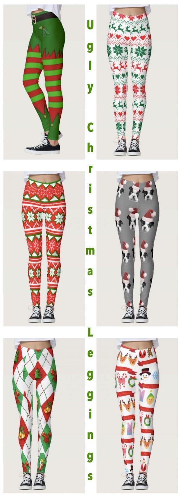 Ugly Christmas Leggings