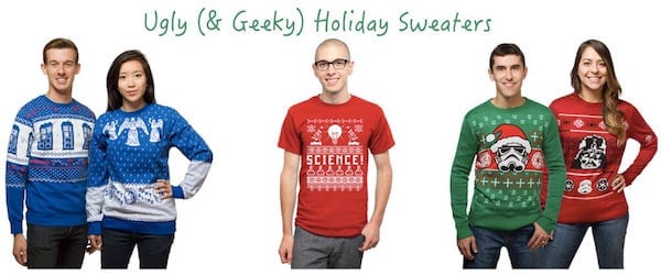 (& Geeky) Holiday Sweaters