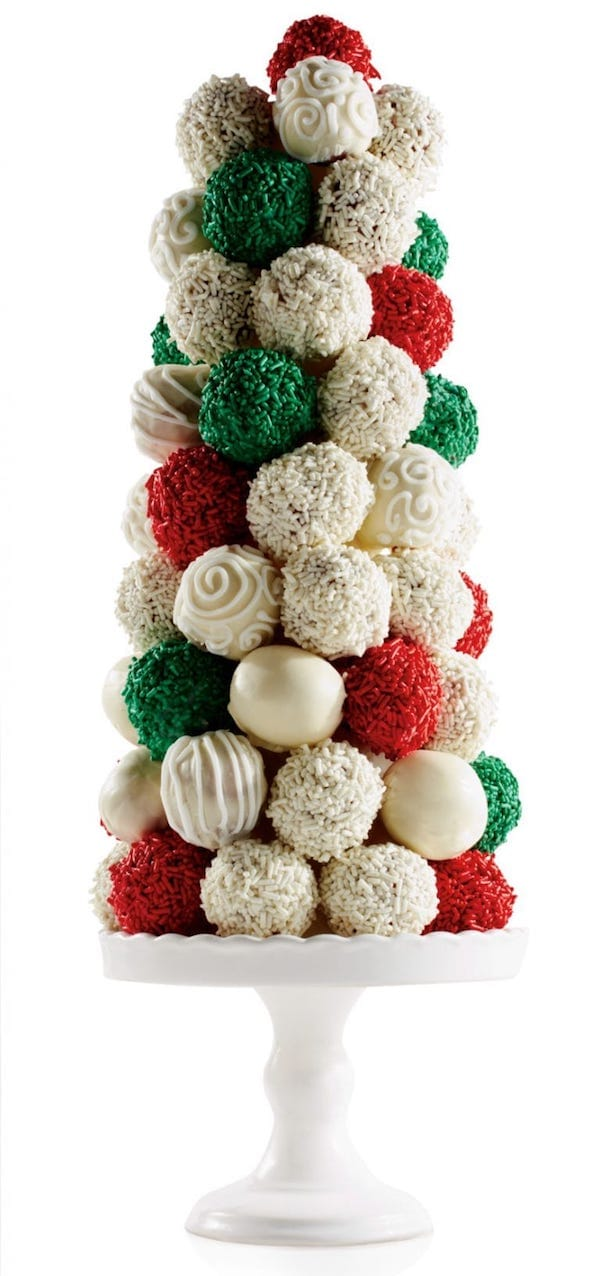Donut Whole Christmas Tree