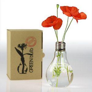 GREENbulb Light Bulb Vases