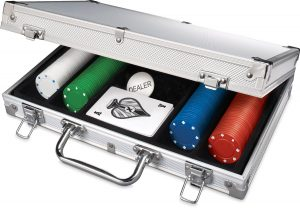 Poker Set In Aluminum Case