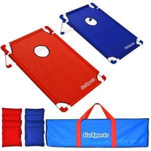 Portable Cornhole Game Set