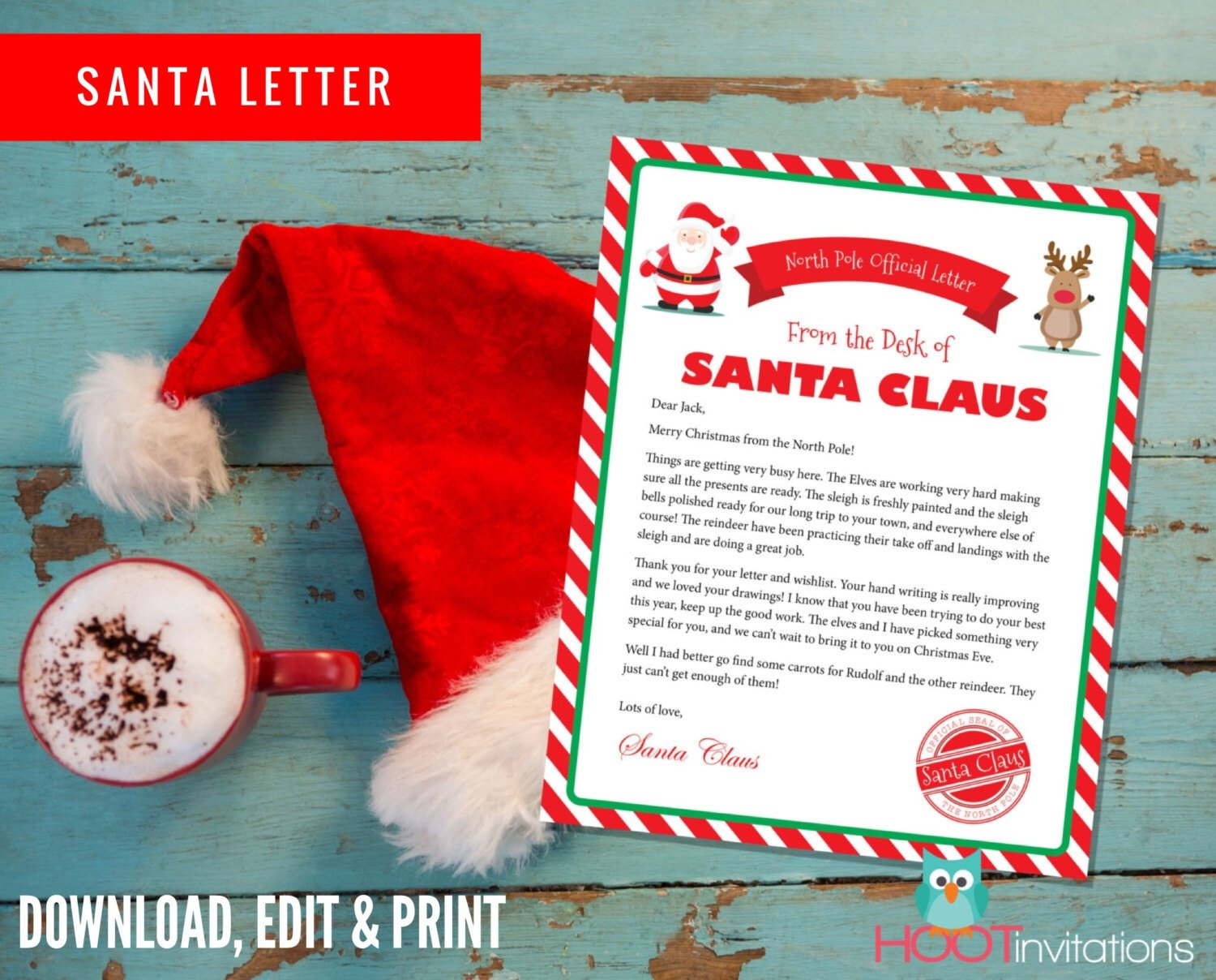 Printable Letters from Santa
