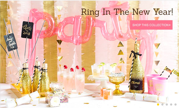 Ring in the New Year Collection from Beau-coup