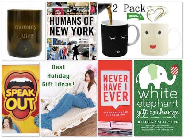White Elephant Gift Exchange Stocking Stuffer Holiday Gift Ideas