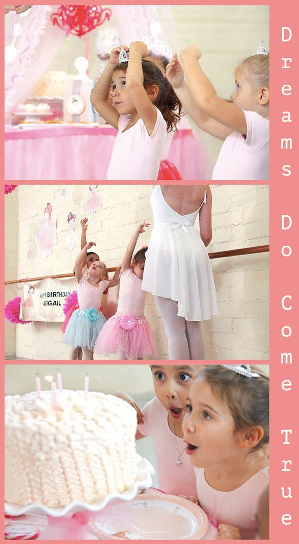 Ballerina Tutu Birthday Party