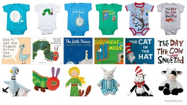 Best Baby Shower Gifts Onesie Matching Book and Plush