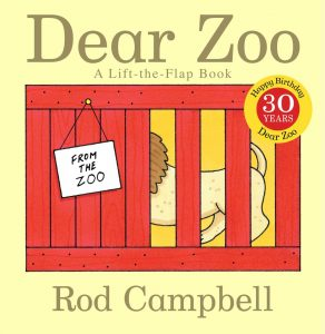 Dear Zoo, by Rod Campbell